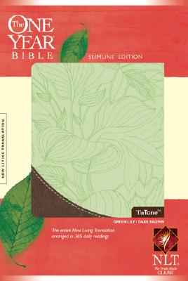 The One Year Bible Slimline Edition NLT, TuTone