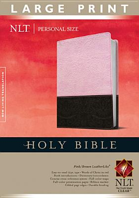 "Image for ""''Holy Bible NLT, Personal Size Large Print edition, TuTone (Personal Size Lp: Nltse)''"""