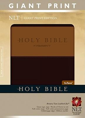 "Image for ""''Holy Bible, Giant Print NLT, TuTone''"""