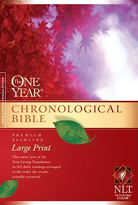 "Image for ""''The One Year Chronological Bible NLT, Premium Slimline Large Print (New Living Translation) ''"""