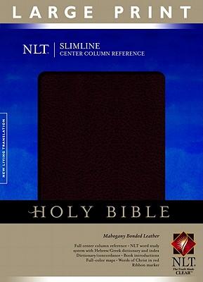 Slimline Center Column Reference Bible NLT, Large Print