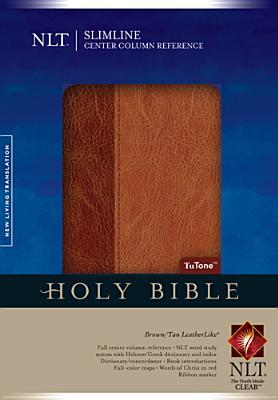 "Image for ""''Slimline Center Column Reference Bible NLT, TuTone''"""