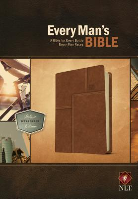 "Image for ""''Every Man's Bible NLT, Deluxe Messenger Edition Imitation Leather''"""