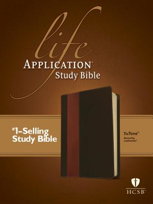 Image for HCSB Life Application Study Bible, Second Edition, TuTone (Red Letter, LeatherLike, Brown/Tan)