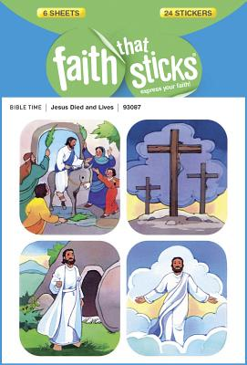 Image for Jesus Died and Lives (Faith That Sticks Stickers)