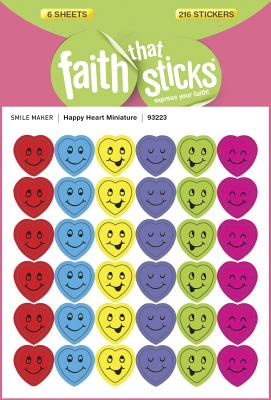 Image for Happy Heart Miniature (Faith That Sticks Stickers)