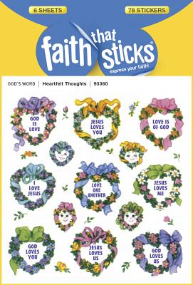 Image for Heartfelt Thoughts (Faith That Sticks Stickers)