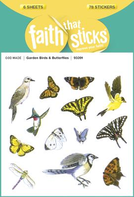 Image for Garden Birds and Butterflies (Faith That Sticks Stickers)