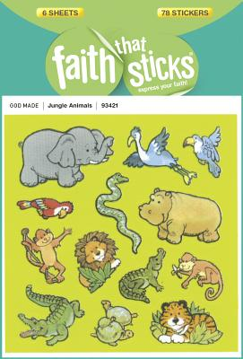 Image for Jungle Animals (Faith That Sticks Stickers)