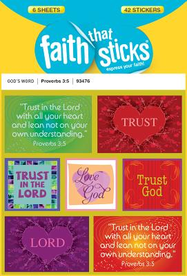 Image for Proverbs 3:5 (Faith That Sticks Stickers)