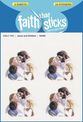 Image for Jesus and Children (Faith That Sticks Stickers)