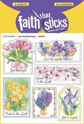 Image for Spring Blessings (Faith That Sticks Stickers)