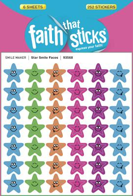 Image for Star Smile Faces (Faith That Sticks Stickers)