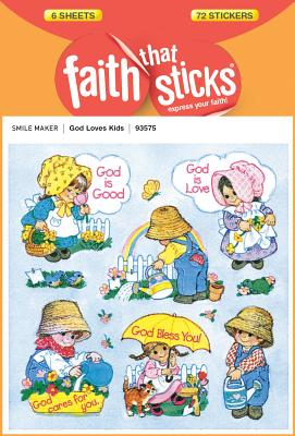 Image for God Loves Kids (Faith That Sticks Stickers)