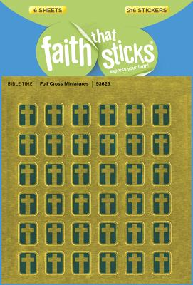 Image for Foil Cross Miniatures (Faith That Sticks Stickers)