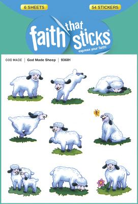 Image for God Made Sheep (Faith That Sticks Stickers)