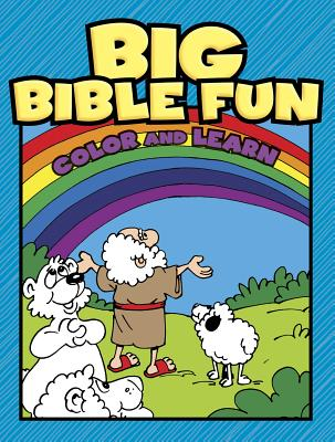 Image for Big Bible Fun Color and Learn Volume 1