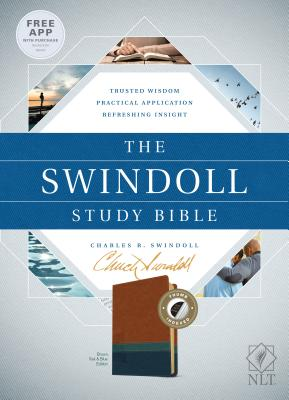 Image for The Swindoll Study Bible NLT, TuTone