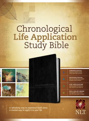 "Image for ""Chronological Life Application Study Bible NLT, TuTone Bonded Leather"""