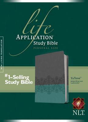 Image for Life Application Study Bible NLT (Juniper/Gray Lace)