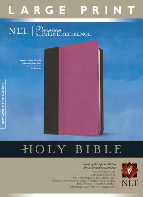 "Image for ""''Premium Slimline Reference Bible NLT, Large Print, TuTone(10 point)''"""