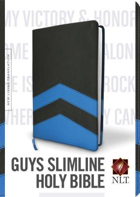 """Image for """"''Guys Slimline Bible NLT, TuTone''"""""""