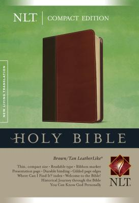 Image for Compact Edition Bible NLT, TuTone