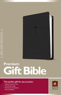 Image for NLT Premium Gift Bible Black