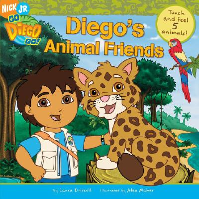 Image for Diego's Animal Friends Touch & Feel 5 Animals (Go, Diego, Go)
