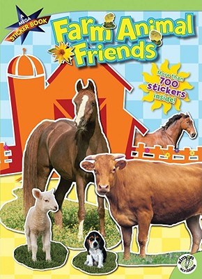 Farm Animal Friends: A Mega Sticker Book, Ciminera, Siobhan