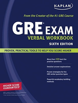 Image for Kaplan GRE Exam Verbal Workbook (Kaplan Gre Verbal Workbook)