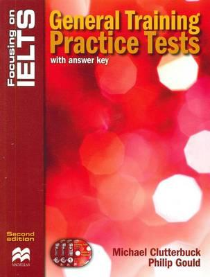 Image for Focusing on IELTS: General Training Practice Tests Book with Audio CDs