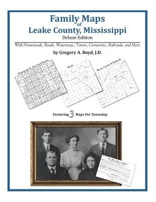 Image for Family Maps of Leake County, Mississippi, Deluxe Edition