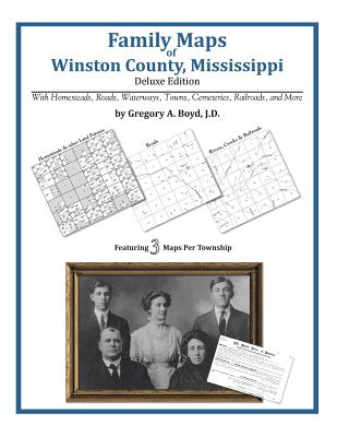 Family Maps of Winston County, Mississippi, Boyd J.D., Gregory A