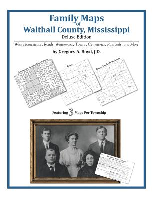 Family Maps of Walthall County, Mississippi, Boyd J.D., Gregory A