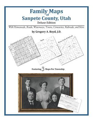 Family Maps of Sanpete County, Utah, Boyd J.D., Gregory A.