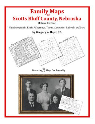 Family Maps of Scotts Bluff County, Nebraska, Boyd J.D., Gregory A.