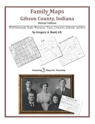 Family Maps of Gibson County, Indiana, Boyd J.D., Gregory A
