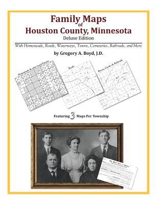 Family Maps of Houston County, Minnesota, Boyd J.D., Gregory A.