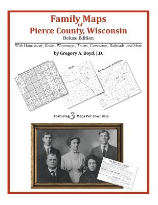 Family Maps of Pierce County, Wisconsin, Boyd J.D., Gregory A.