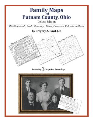 Family Maps of Putnam County, Ohio, Boyd J.D., Gregory A.