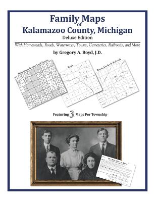 Family Maps of Kalamazoo County, Michigan, Boyd J.D., Gregory A.