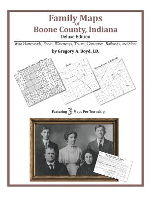 Family Maps of Boone County, Indiana, Boyd J.D., Gregory A
