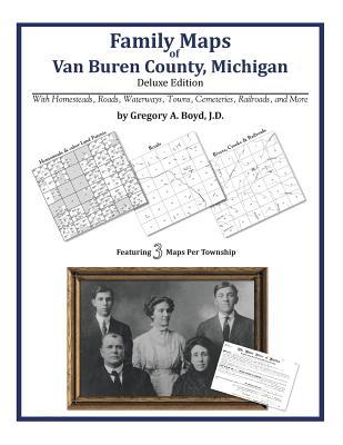 Family Maps of Van Buren County, Michigan, Boyd J.D., Gregory A.