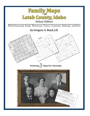Family Maps of Latah County, Idaho, Boyd J.D., Gregory A.
