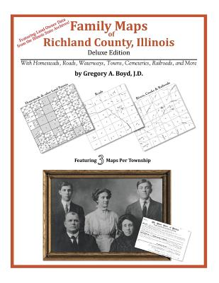Family Maps of Richland County, Illinois, Boyd J.D., Gregory A.