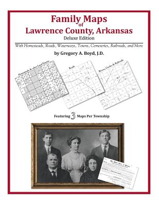 Family Maps of Lawrence County, Arkansas, Boyd J.D., Gregory A