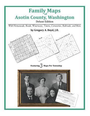 Family Maps of Asotin County, Washington, Boyd J.D., Gregory A.