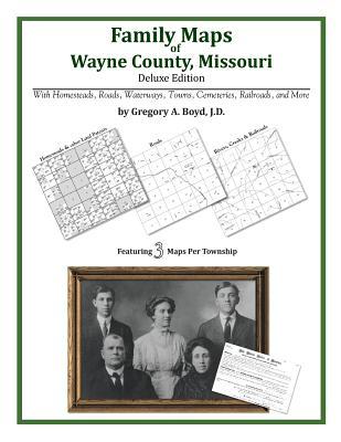 Family Maps of Wayne County, Missouri, Boyd J.D., Gregory A.