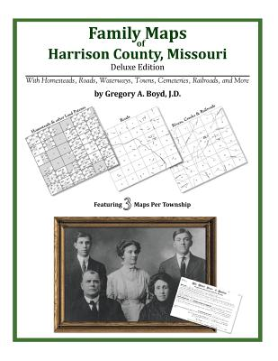 Family Maps of Harrison County, Missouri, Boyd J.D., Gregory A.
